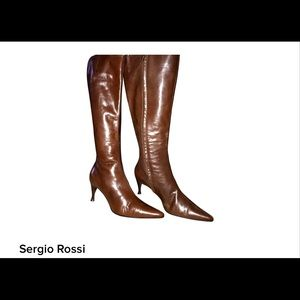 🌺SALE🌺SERGIO ROSSI🌺TALL BUTTER SOFT🌺